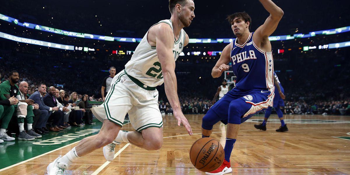 Celtics beat 76ers 105-87 as Hayward, Irving make returns