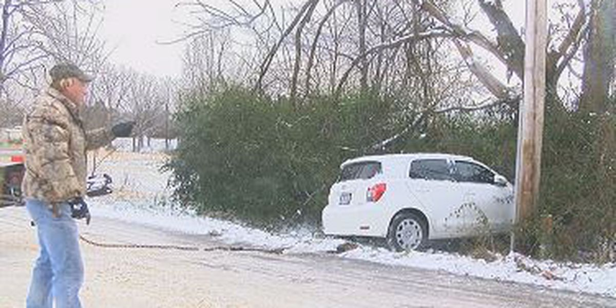 Winter weather creates more work for wreckers