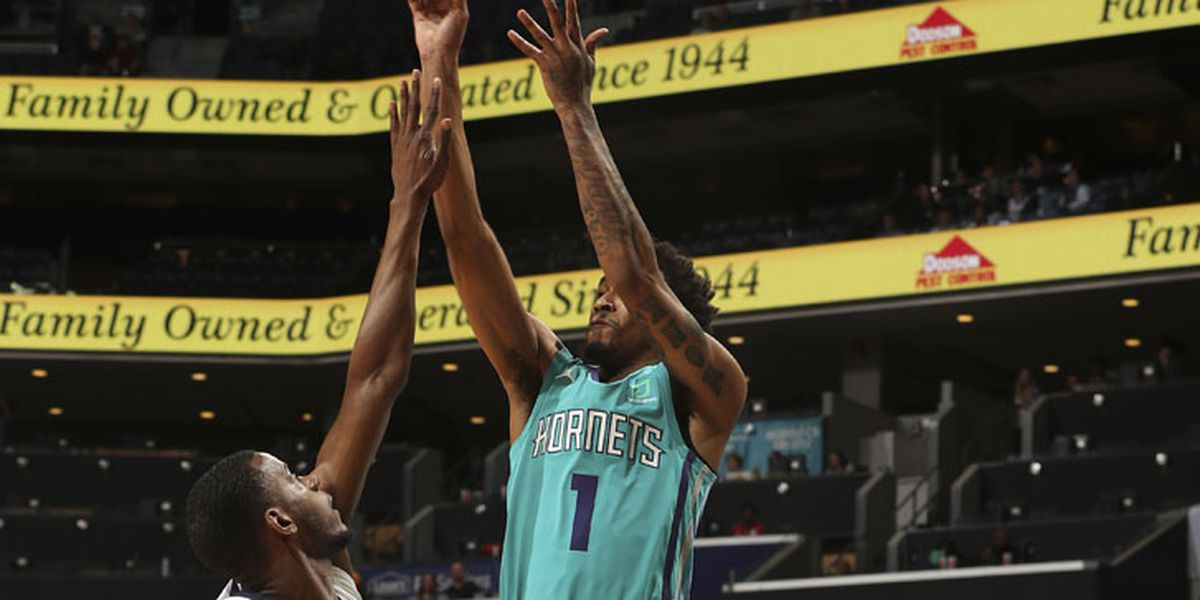 Malik Monk drops 20 points Friday night as Hornets beat Grizzlies