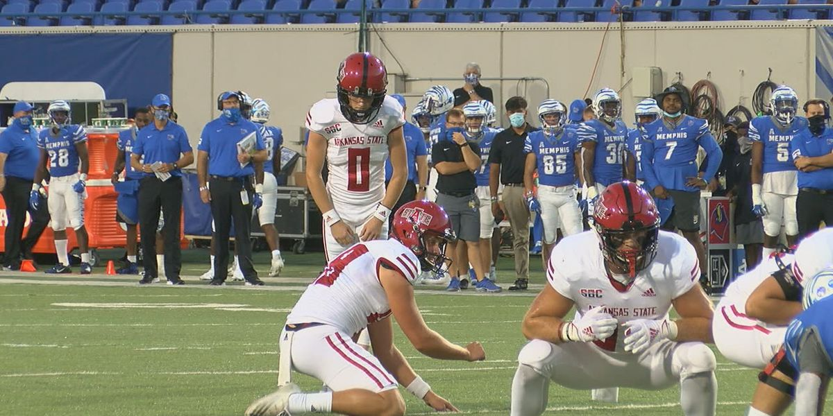 Blake Grupe named SBC Special Teams Player of the Week