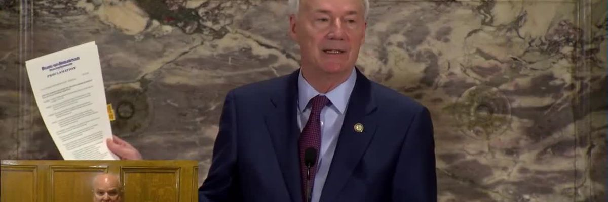 Full Briefing: Gov. Hutchinson update on what American Rescue Plan means for Arkansas