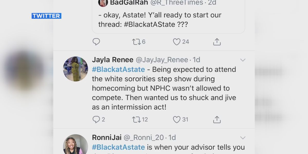 Alumni, students at Arkansas State University share stories through hashtag #BlackAtAstate