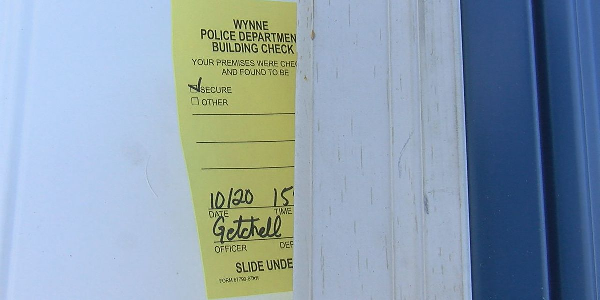 Wynne Police Department going the extra mile to keep businesses safe