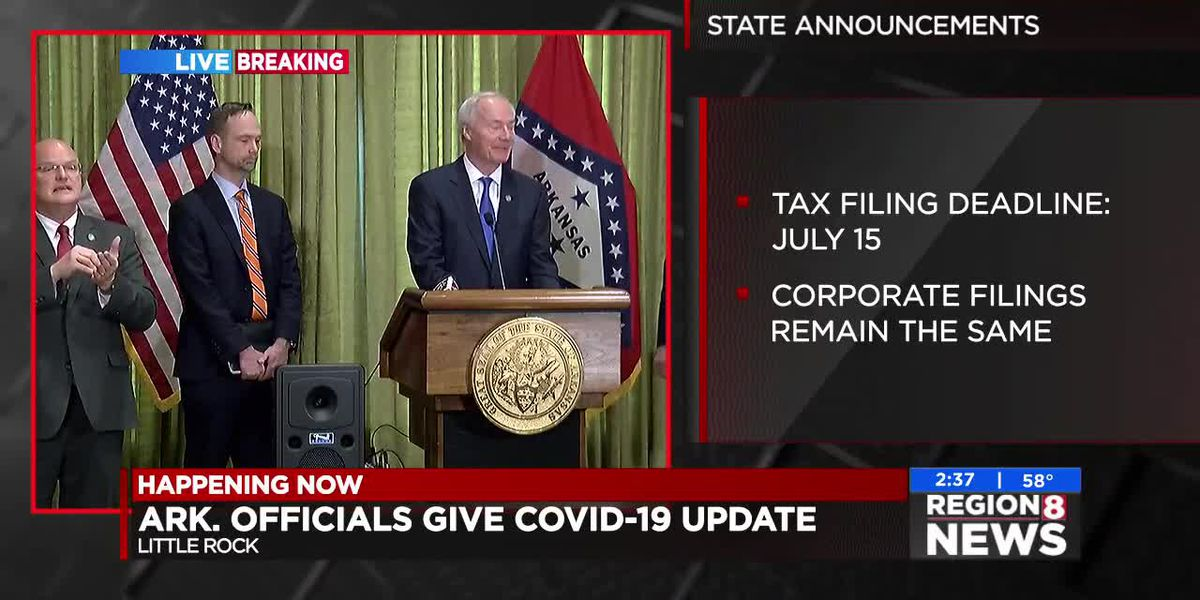 REPLAY - WATCH: Gov. Hutchinson's daily COVID-19 briefing - 3/23