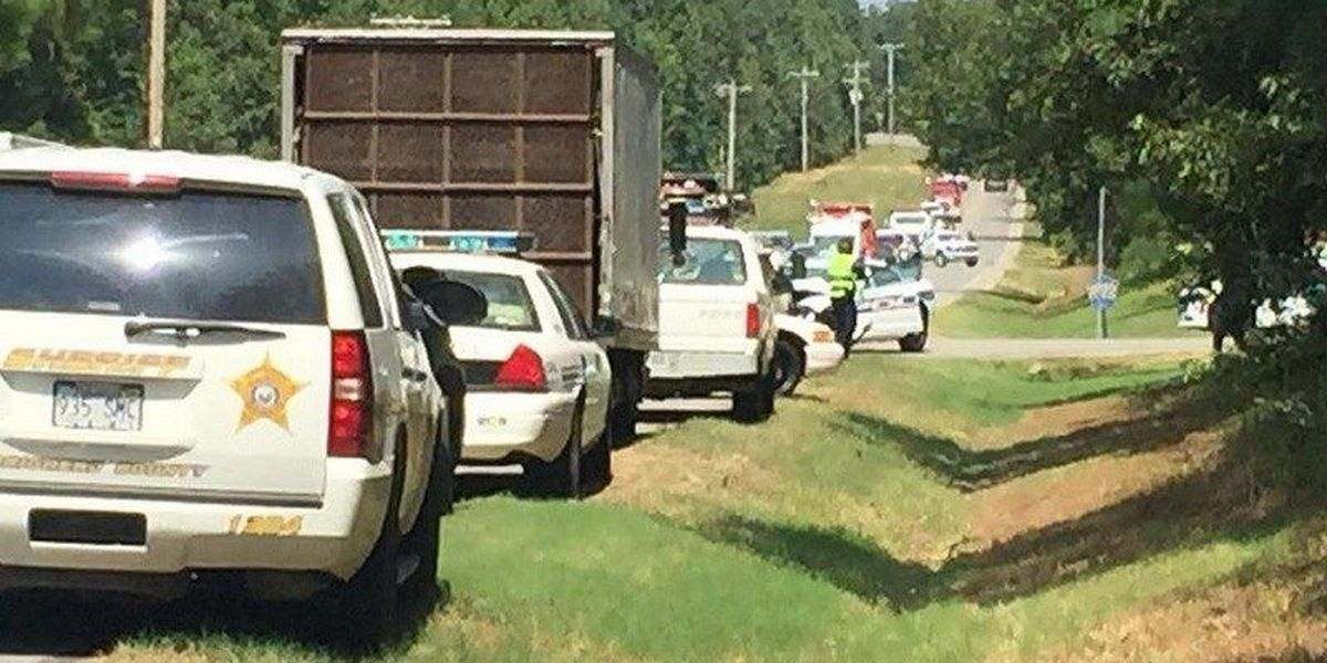Officer involved in head-on collision north of Jonesboro