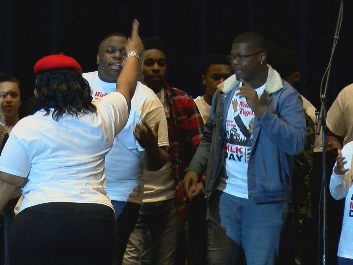 Youth kick off MLK Jr. Day celebration with Sunday program