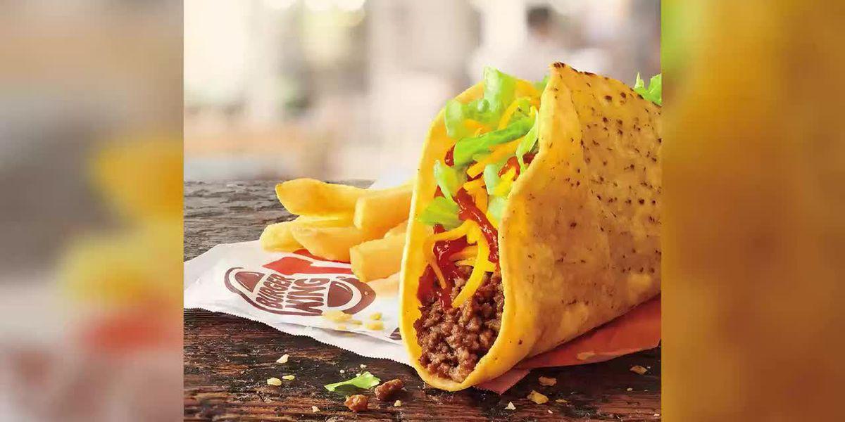 Let's taco-bout Burger King's new menu item