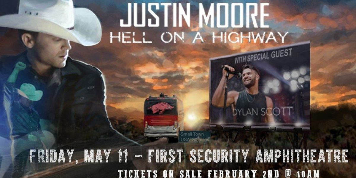 Justin Moore to bring tour to Arkansas