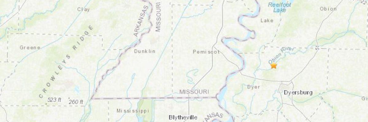 M 3.6 quake rattles parts of TN, MO, AR