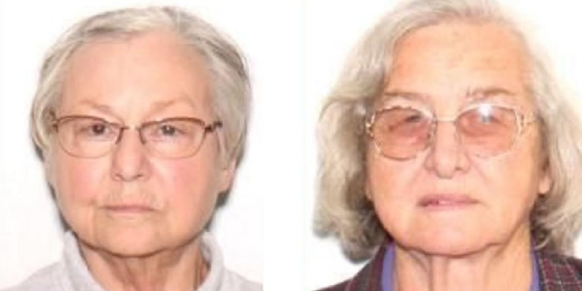Police: 2 women missing with dementia found safe