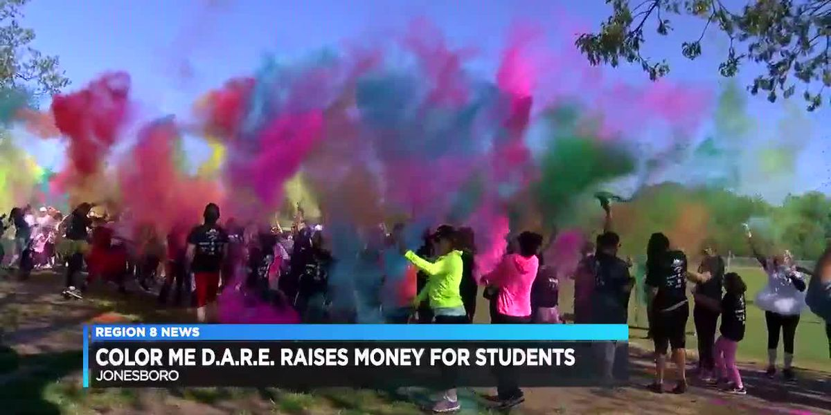 Color Me D.A.R.E Raises Money For Students
