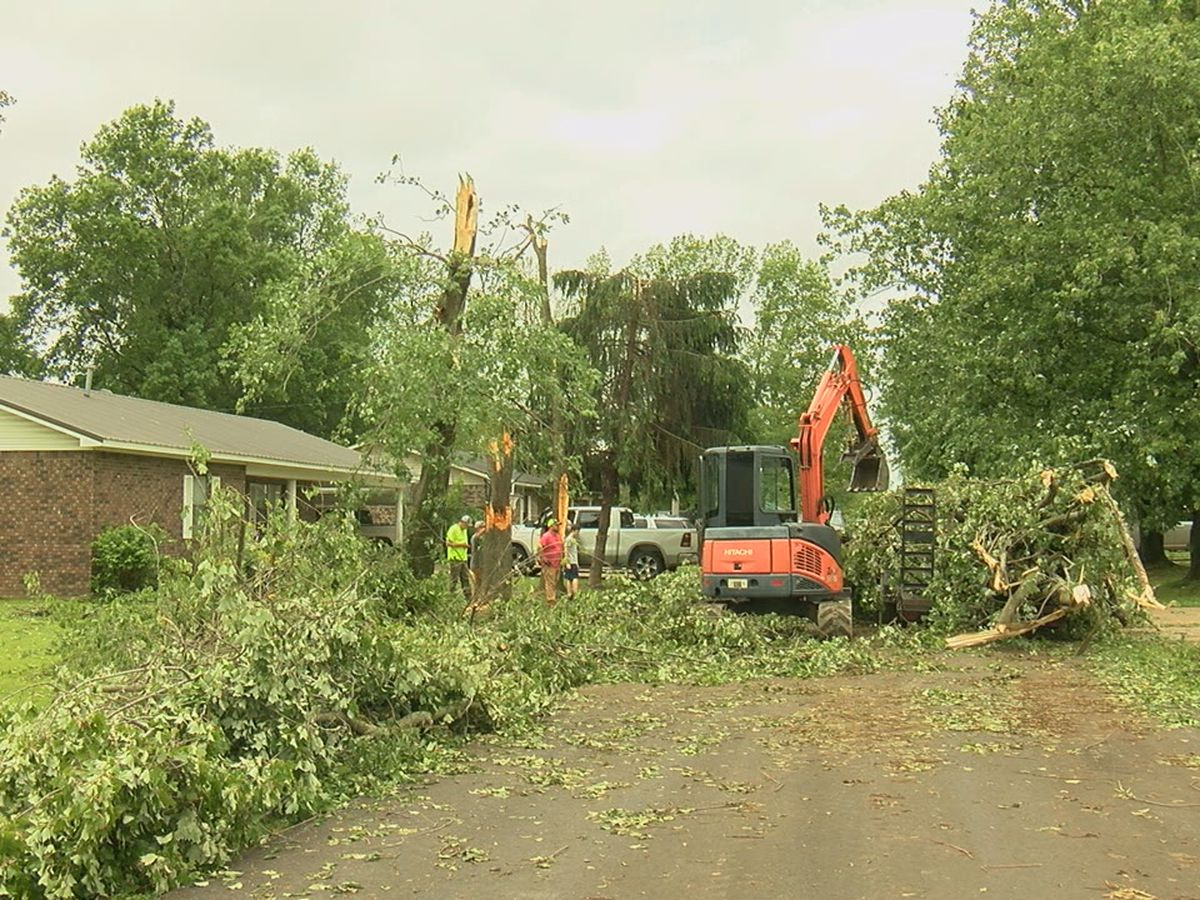 Cleanup continues one week after storm