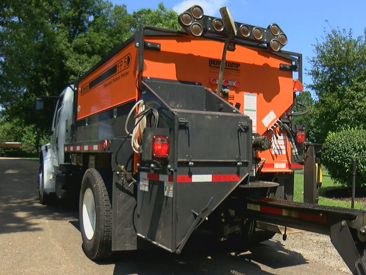 City spent $200,000 on equipment to fix potholes