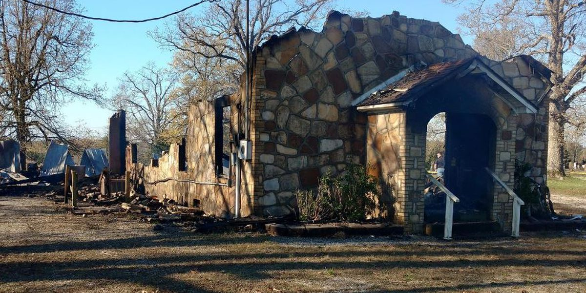 Investigators: Fire that destroyed church was intentionally set
