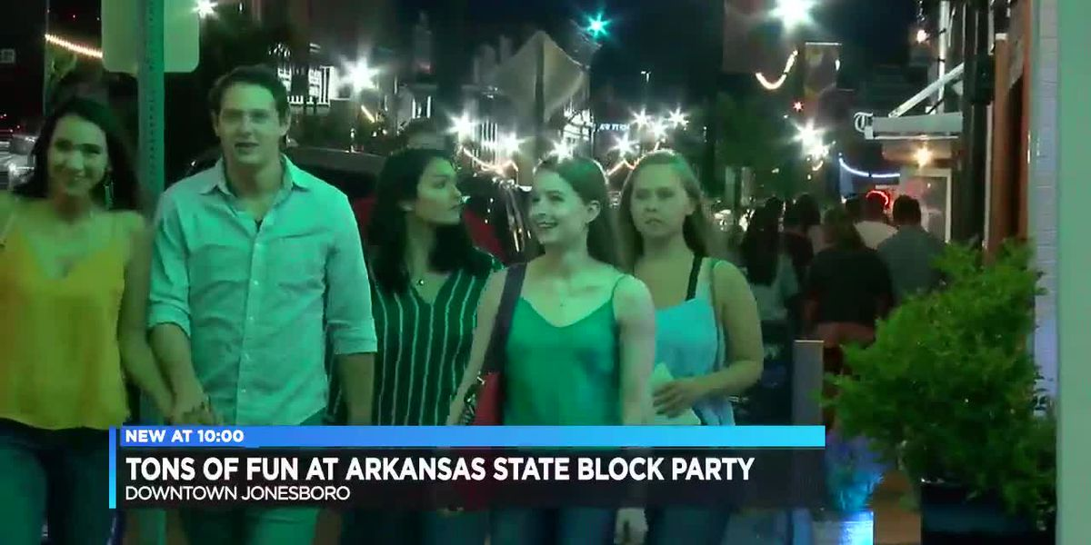 Students uncover attractions at Downtown Jonesboro party