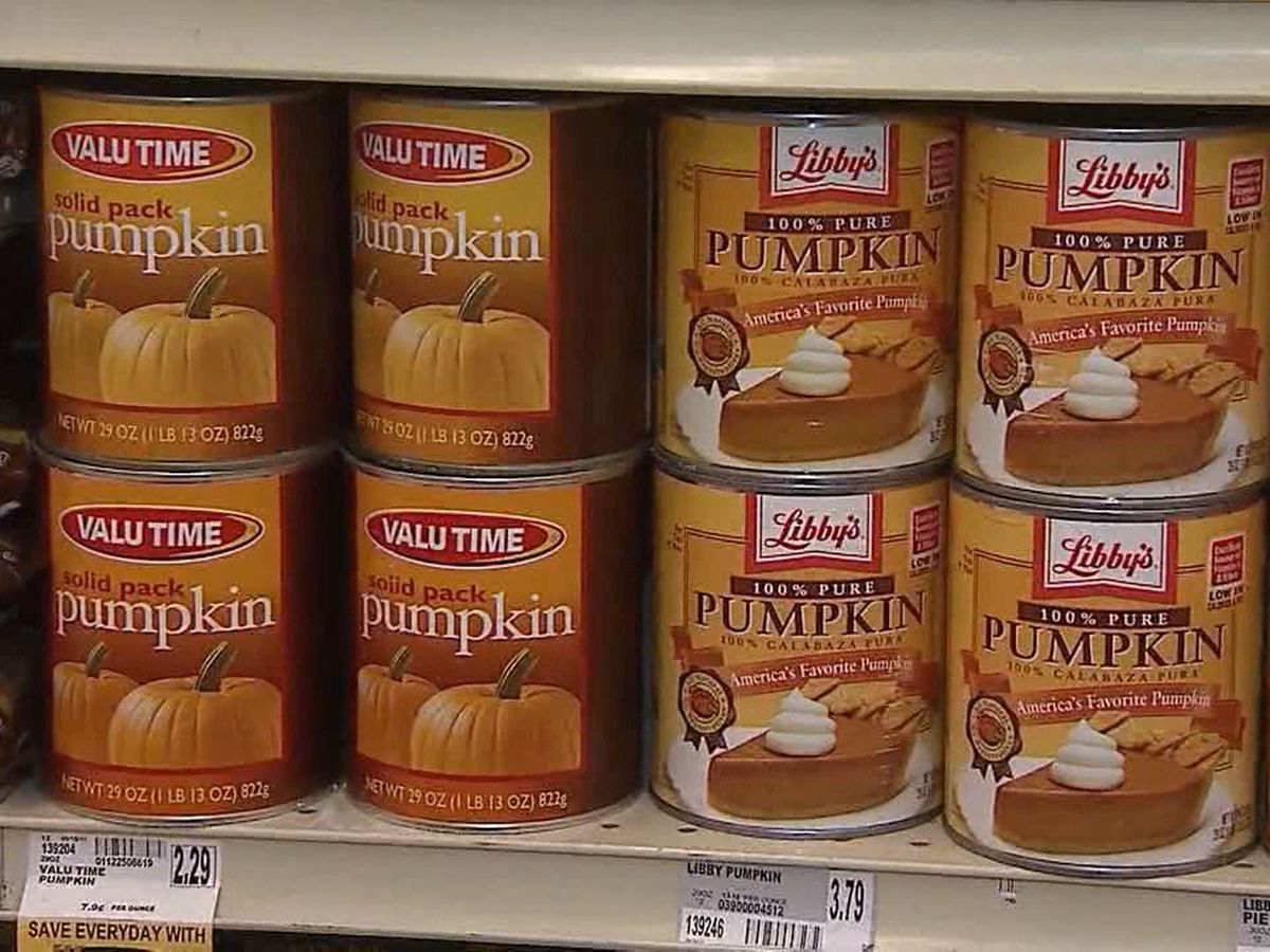Pumpkin spice everything: watch what pumpkin you use