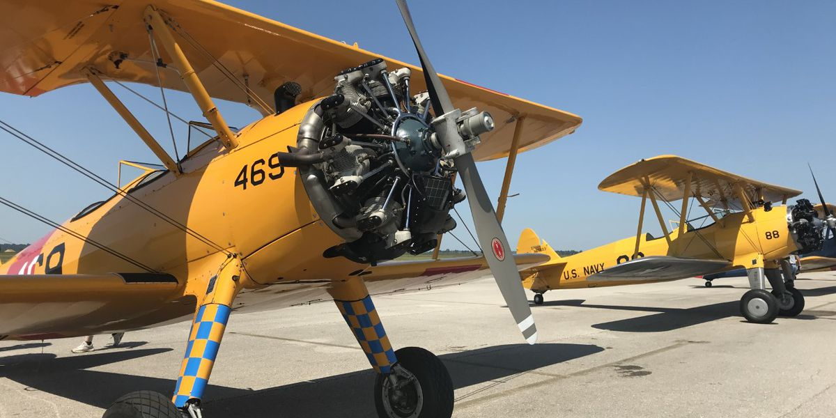 Stearman aircraft from WWII visit the Heartland