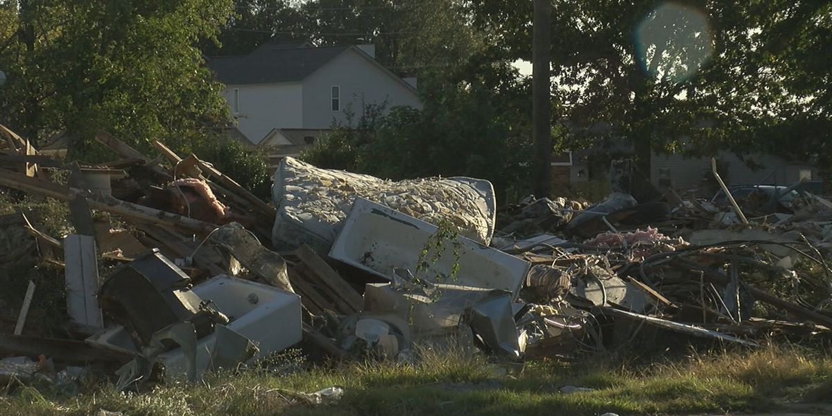 Apartment building demolished over 6 months after tornado damage