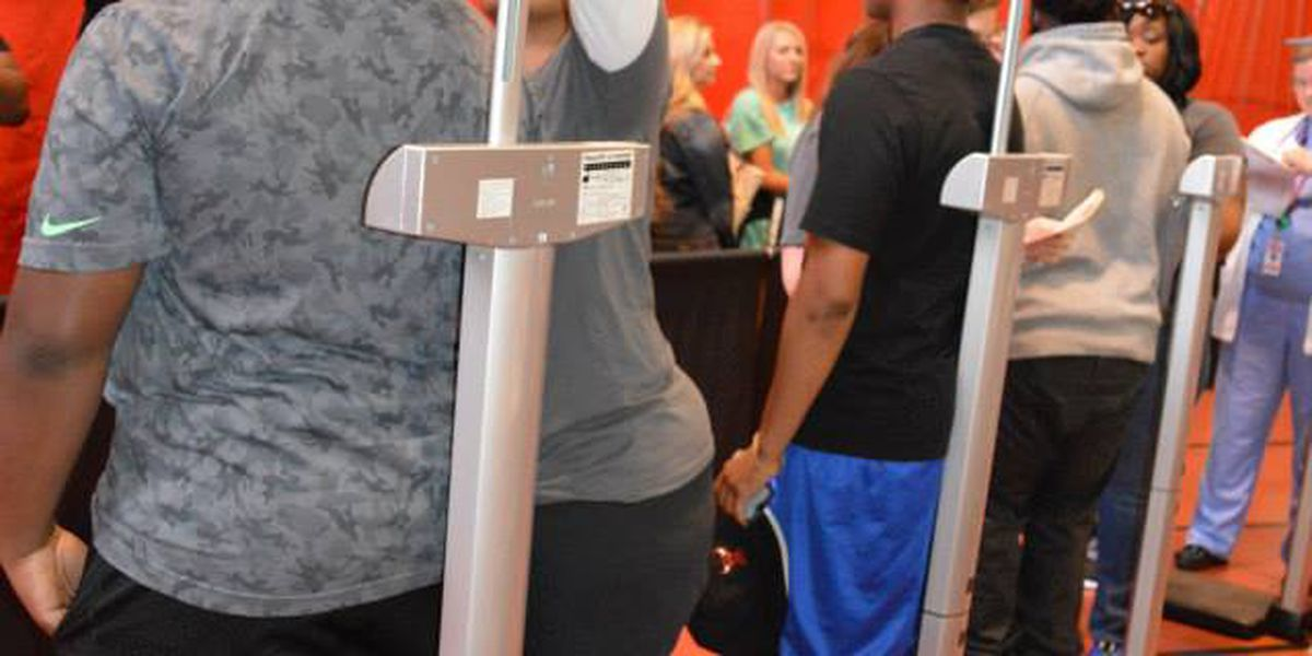 Hundreds of student athletes receive free physicals during Health and Fitness Expo