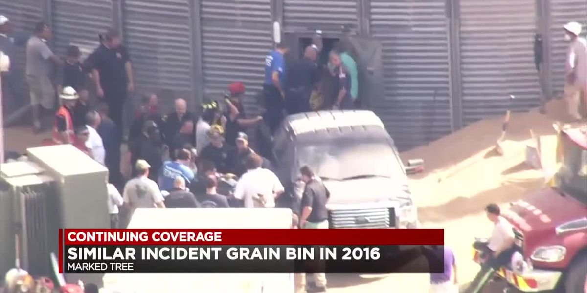 Similar incident in grain bin in 2016