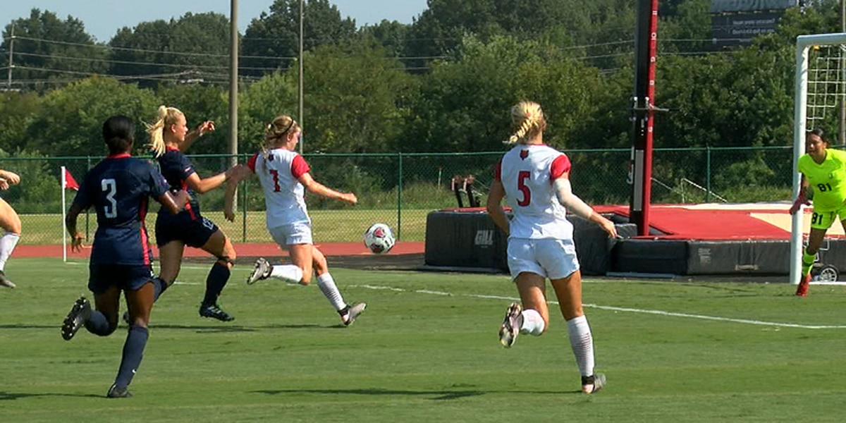 Sodoma's hat trick fuels Arkansas State soccer 6-1 win over Jackson State