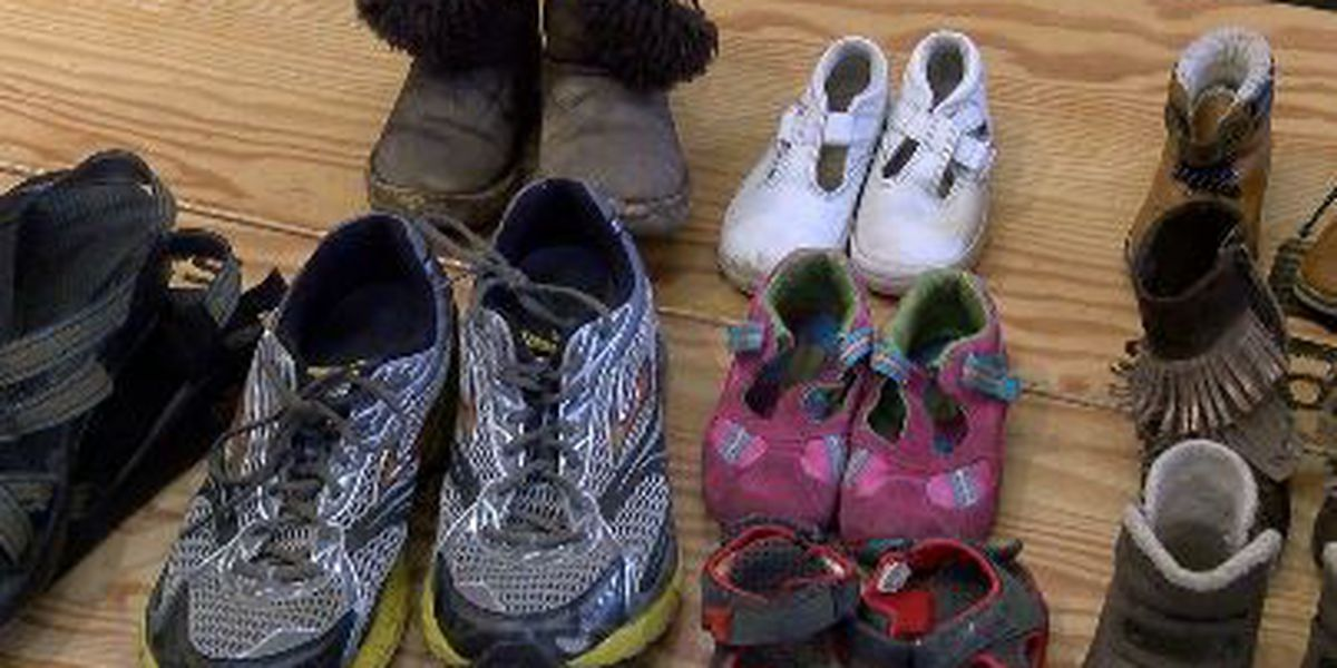 Shoe drive to fund clean water