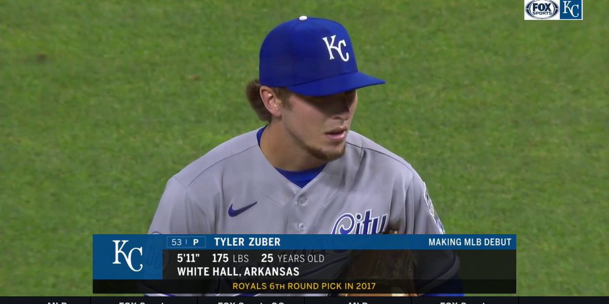 Arkansas State alum Tyler Zuber shines Friday in MLB debut
