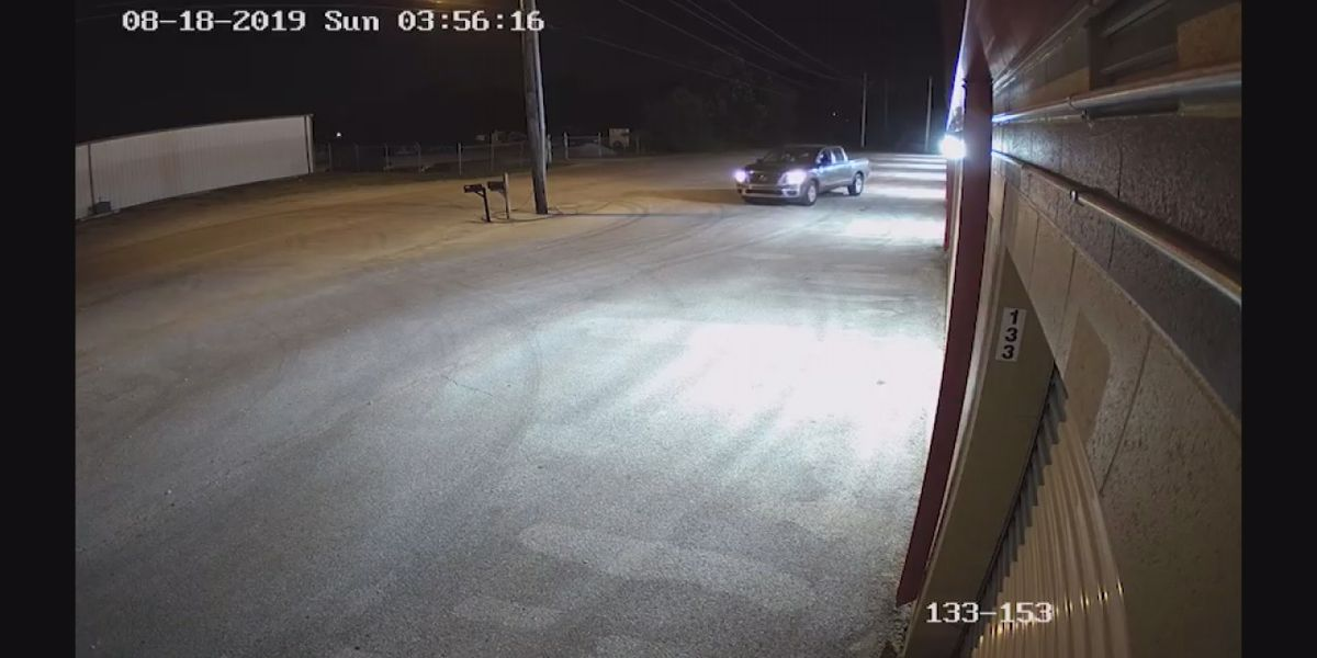 Suspects wanted in string of storage unit break-ins