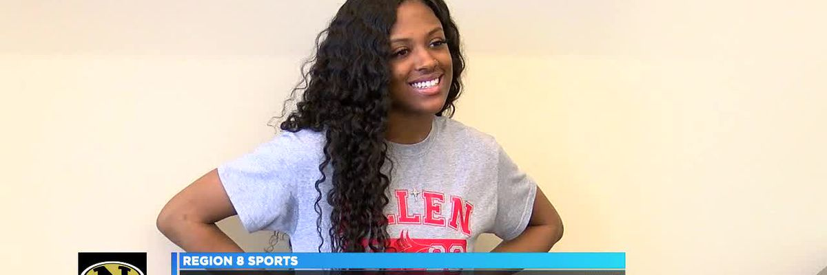 Nettleton PG Courtney Crippen signs with Allen Community College