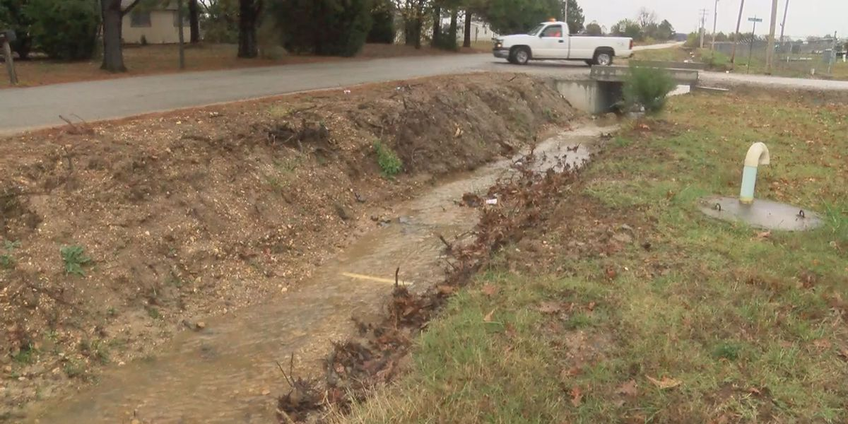 Heavy rain to put Brookland ditch improvements to the test