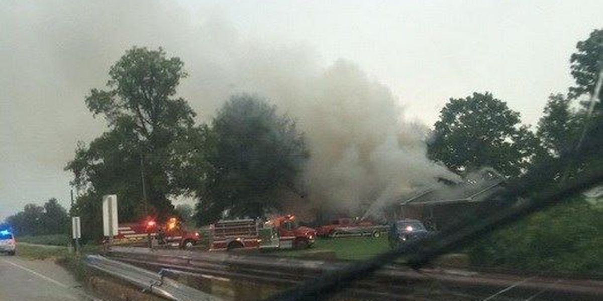 Chief: Lightning caused house fire