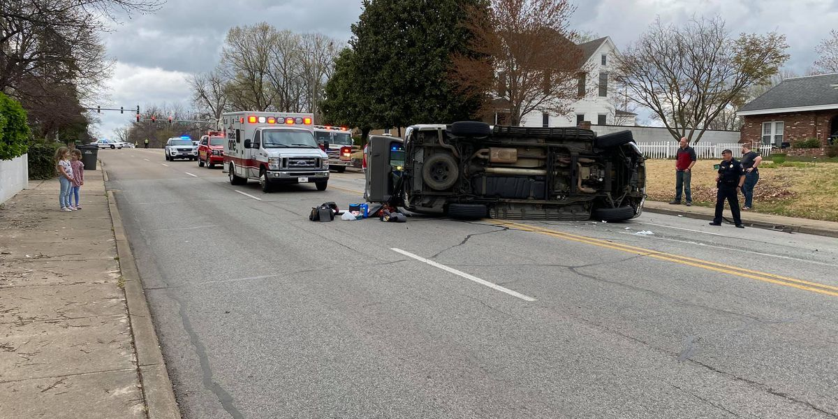 Air dusters found, driver cited in rush hour rollover crash