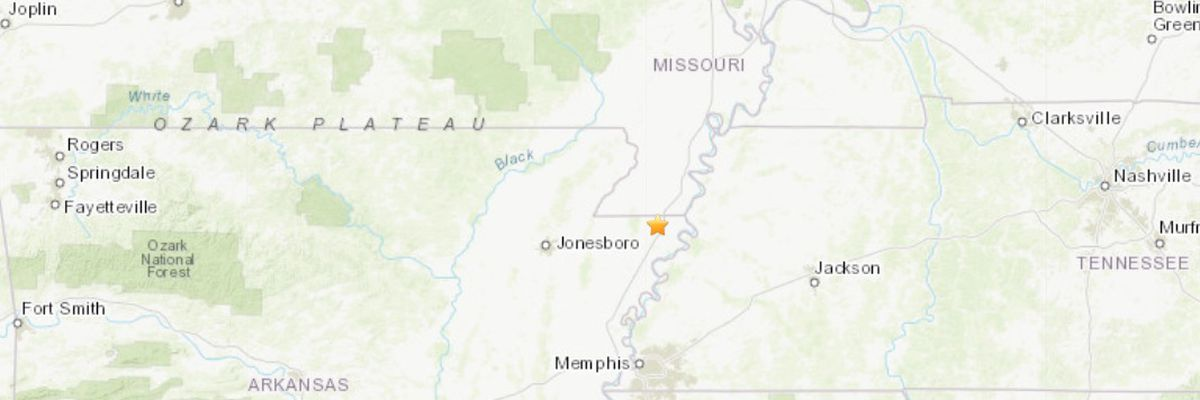 Did you feel it? M 2.8 quake recorded near Blytheville