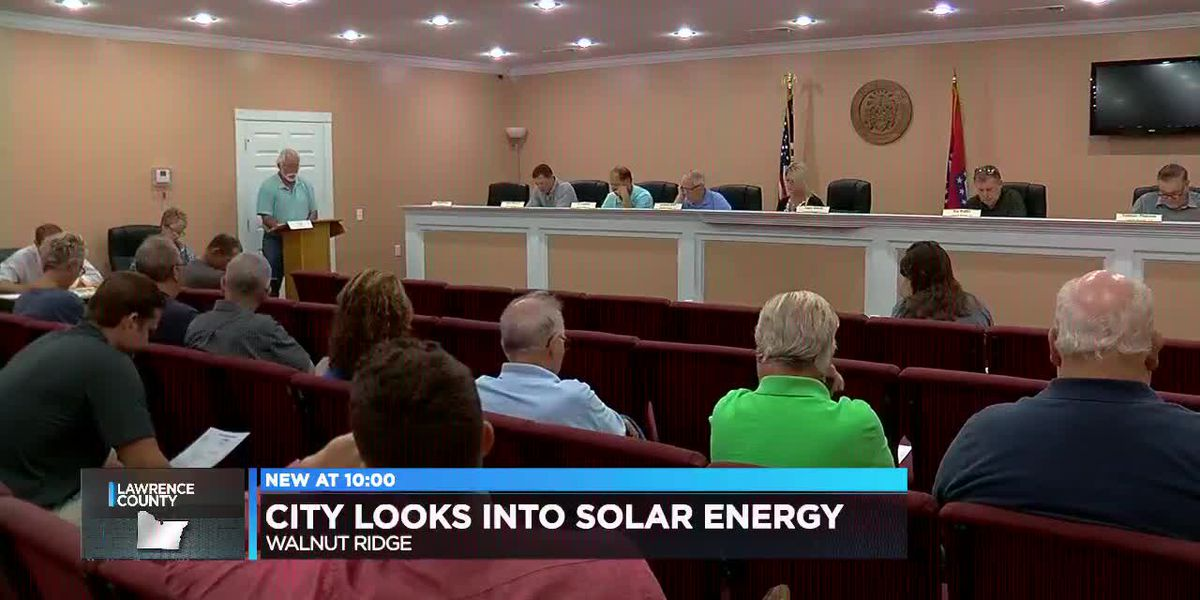 City looking at using solar energy