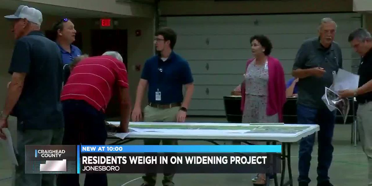 ArDOT looks to put turning lanes on Hwy. 351, hears from residents at meeting