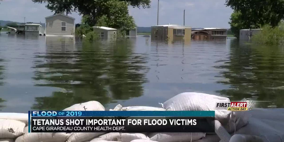 Health officials urge flood victims to get tetanus shots