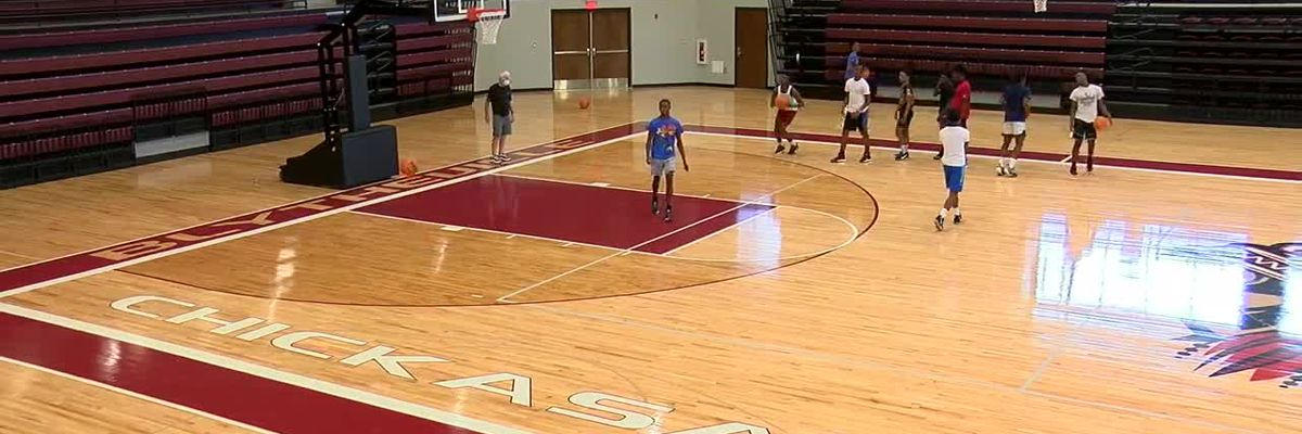 Blytheville basketball feeling at home at new Chickasaw Arena