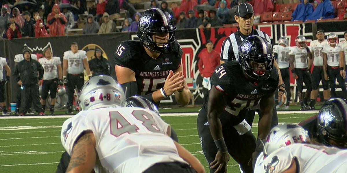 Arkansas State football and UNLV set for 9pm kickoff on September 7th