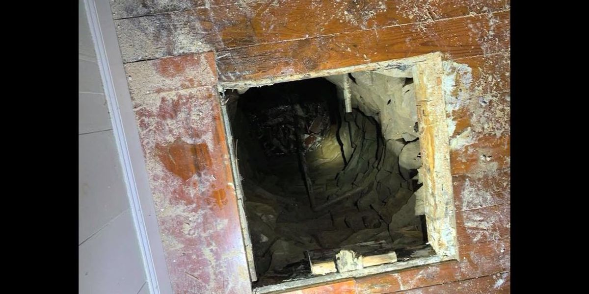 Man helping friend move falls through Conn. home's floor into well