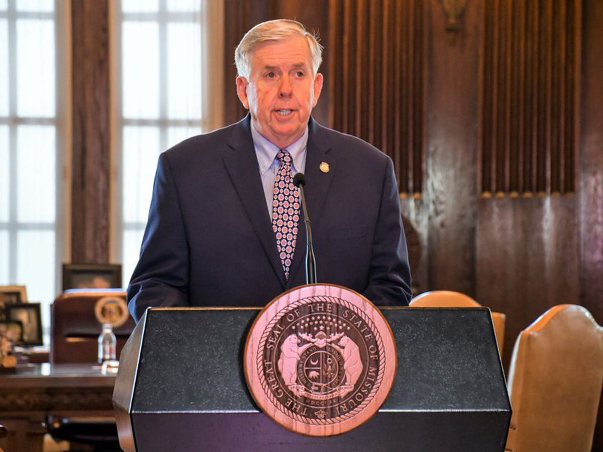 Mo. Gov. Parson to deliver State of the State Address at 3pm