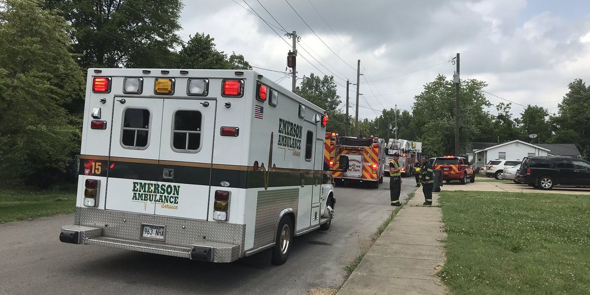 Man injured after kitchen fire