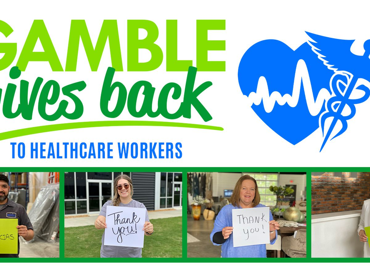 Gamble Gives Back to Healthcare Workers