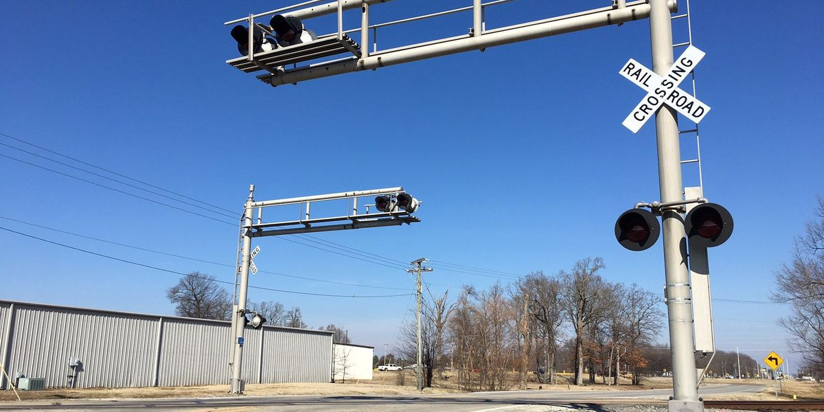 Railroad crossing upgrades nearing completion