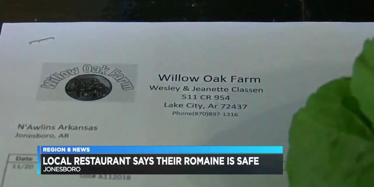 Local restaurant, farmer say their romaine is safe