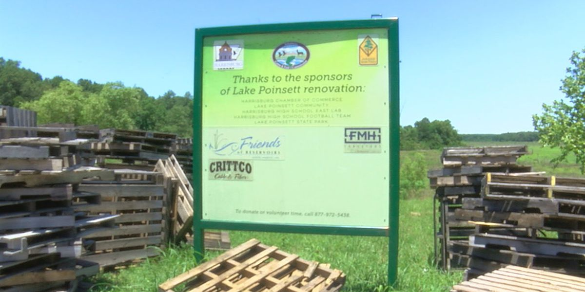 Lake Poinsett renovations nearing completion