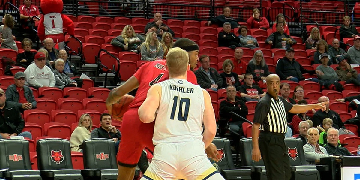 Three Red Wolves score in double figures in a Friday win over UC Davis
