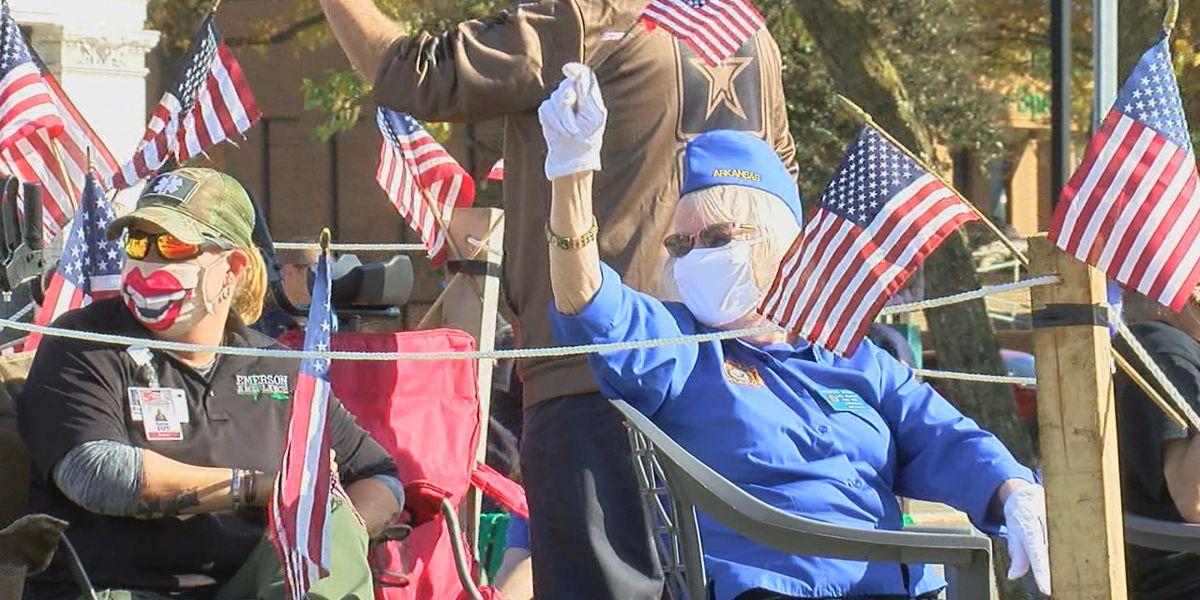 Hundreds attend Jonesboro Veterans Parade midst pandemic