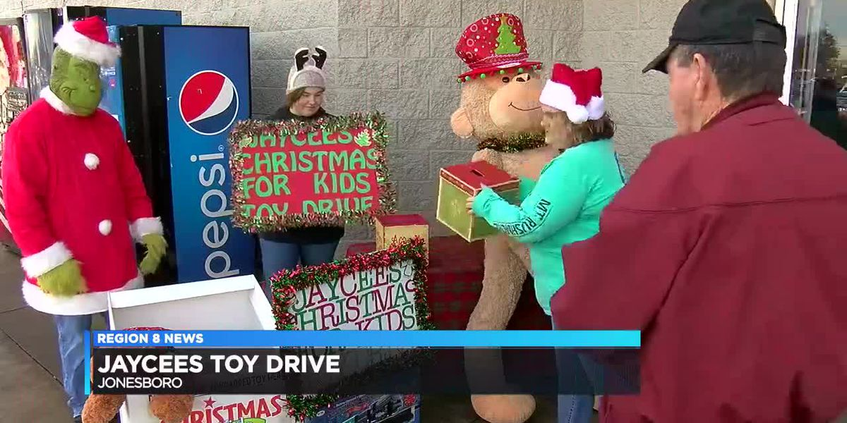 Jaycees toy drive