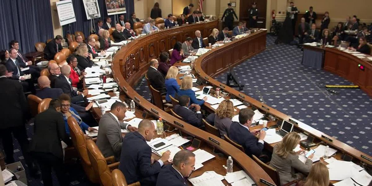 House committee expected to take historic vote on Trump impeachment