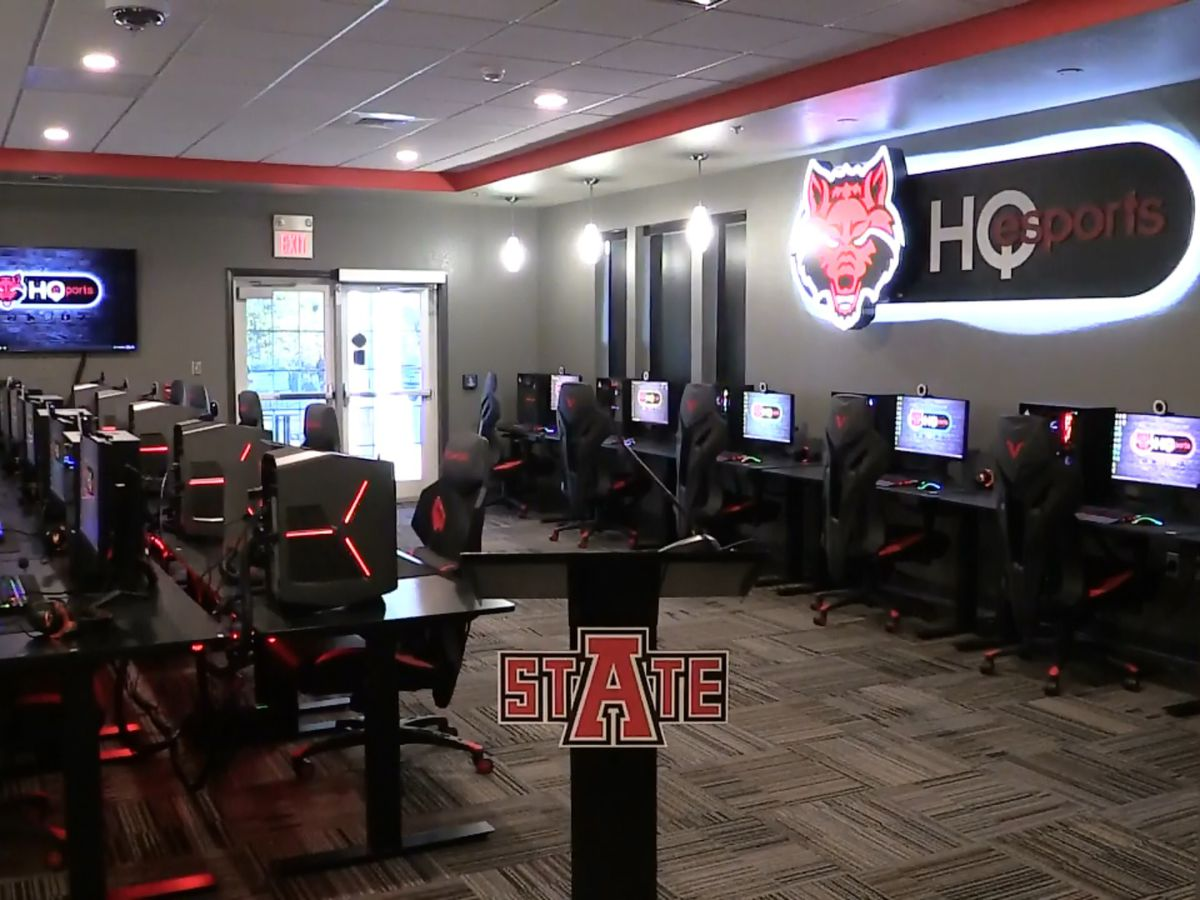 A-State holds ribbon-cutting ceremony for Esports Headquarters